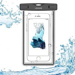 Pouzdro USAMS Luminous voděodolný obal pro smartphony do 5.5