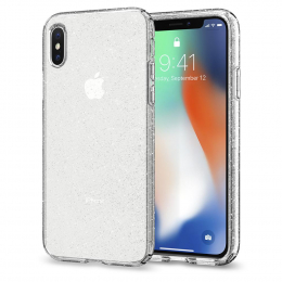 Pouzdro Spigen Liquid Crystal pro Apple iPhone X Glitter
