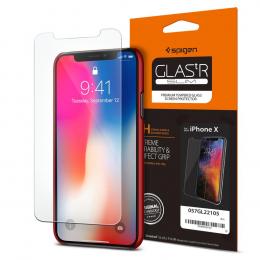 Spigen Tvrzené sklo GLAS.tR SLIM (057GL22105) pro Apple iPhone X