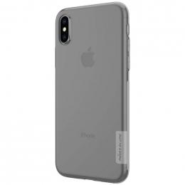 Pouzdro Nillkin Nature pro Apple iPhone X/Xs šedé