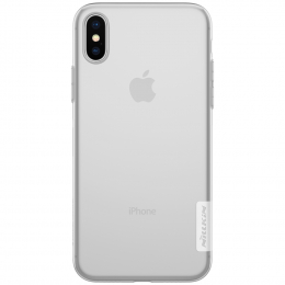 Pouzdro Nillkin Nature pro Apple iPhone X/Xs transparentní