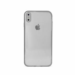 Pouzdro Puro Cover 03 Nude pro Apple iPhone X transparentní