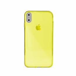 Pouzdro Puro Cover 03 Nude pro Apple iPhone X žluté
