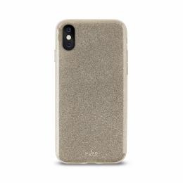 Pouzdro Puro Cover Shine pro Apple iPhone X zlaté