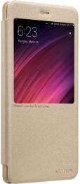Pouzdro Nillkin Sparkle S-View pro Xiaomi Mi A1 zlaté
