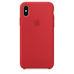 Pouzdro Apple Silicone Case pro Apple iPhone X/Xs - MRWC2ZM/A (PRODUCT) Red
