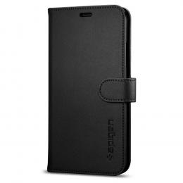 Pouzdro Spigen Wallet S (057CS22176) pro Apple iPhone X/Xs černé