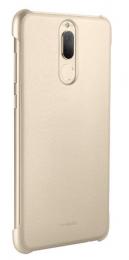 Pouzdro Huawei Original PU Protective Mate 10 Lite zlaté