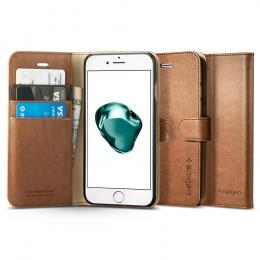 Pouzdro Spigen Wallet S (043CS20544) pro Apple iPhone 7/8 Plus hnědé