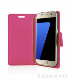 Pouzdro Mercury Goospery BRAVO Diary iPhone 6/6S Plus růžové