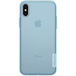 Pouzdro Nillkin Nature pro Apple iPhone X modré