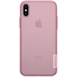 Pouzdro Nillkin Nature pro Apple iPhone X růžové