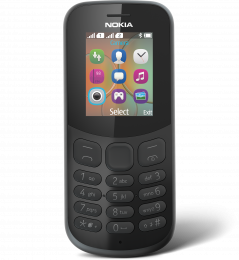 Nokia 130 2017 Single SIM Black