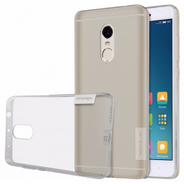 Pouzdro Nillkin Nature TPU Xiaomi Redmi Note 4 GLOBAL šedé