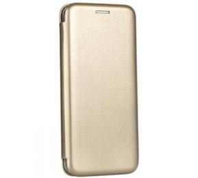 Pouzdro Forcell Elegance (kniha) pro Huawei Y7 zlaté