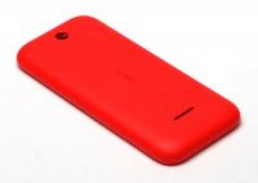 Náhradní zadní kryt pro Nokia 225 (OEM) červený