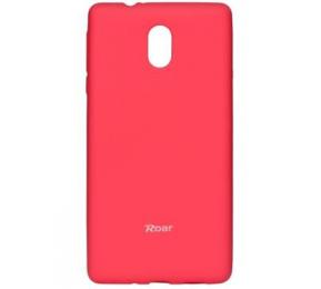 Pouzdro Roar Colorful Jelly pro Nokia 8 tmavě růžové