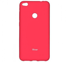 Pouzdro Roar Colorful Jelly pro Huawei P10 Lite tmavě růžové