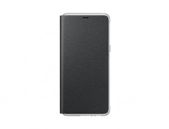 Pouzdro Samsung EF-FA530PB Neon Flip pro Samsung Galaxy A8 2018 Midnight Black