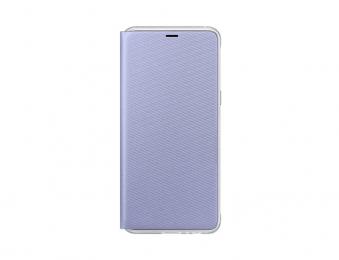 Pouzdro Samsung EF-FA530PV Neon Flip pro Samsung Galaxy A8 2018 Orchid Grey