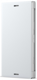 Pouzdro Sony SCSG60 Style Cover Flip pro Sony Xperia XZ1 Compact bílé