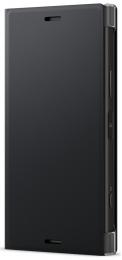 Pouzdro Sony SCSG60 Style Cover Flip pro Sony Xperia XZ1 Compact černý