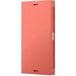 Pouzdro Sony SCSG60 Style Cover Flip pro Sony Xperia XZ1 Compact růžové