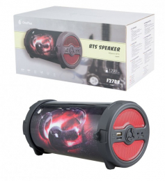Bluetooth Portable Speaker PLUS F2748 Music Bomb, Red