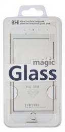 Redpoint tvrzené sklo CARBON Glass 3D pro Xiaomi Redmi Note 4 bílé