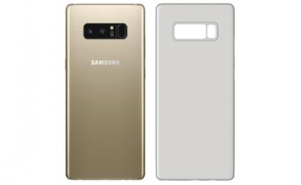 Ochranný kryt 3mk Natural Case pro Samsung Galaxy Note 8 poloprůhledný - bílý