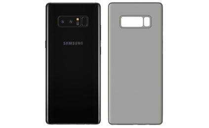 Ochranný kryt 3mk Natural Case pro Samsung Galaxy Note 8 poloprůhledný - tmavý