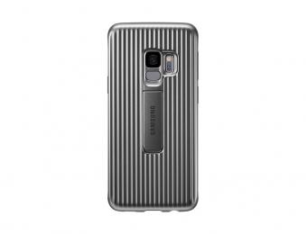 Pouzdro Samsung EF-RG960CS pro Samsung Galaxy S9 stříbrné