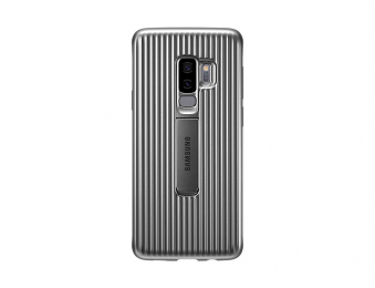 Pouzdro Samsung EF-RG965CS pro Samsung Galaxy S9 Plus stříbrné