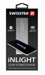 Swissten iNLIGHT Powerbanka 20000 mAh