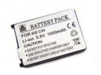 Baterie Aligator pro Siemens C35/M35/S35 typu Li-ion s kapacitou 1000 mAh