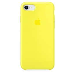 Pouzdro Apple iPhone 7/8 Silicone Case Flash Yellow