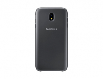 Pouzdro Samsung EF-PJ730CB Dual Layer Cover pro Galaxy J7 2017 černé