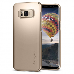 Pouzdro Spigen Thin Fit pro Samsung G950 Galaxy S8 Maple Gold
