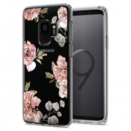 Pouzdro Spigen Liquid Crystal pro Samsung G960F Galaxy S9 Blossom Flower