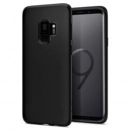 Pouzdro Spigen Liquid Crystal pro Samsung G960F Galaxy S9 Matte Black