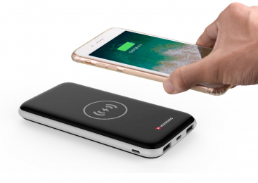 Swissten WIRELESS SLIM Powerbanka 8000 mAh