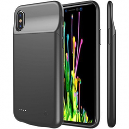 Pouzdro Apple iPhone X Battery Case 3200 mAh černé - vráceno ve 14 denní lhůtě