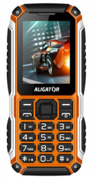 Aligator R30 eXtremo Black Orange