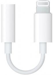 Redukce Apple MMX62ZM/A na 3.5 mm jack bílá