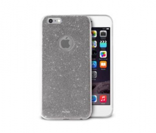 Pouzdro Puro Cover Shine pro Apple iPhone 6/6S stříbrné