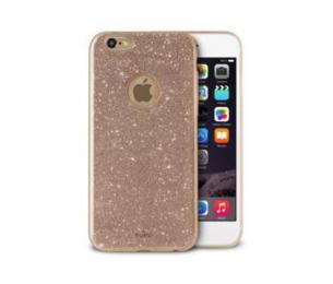 Pouzdro Puro Cover Shine pro Apple iPhone 6/6S zlaté