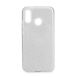 Pouzdro Forcell Shining pro Huawei P20 Lite stříbrné