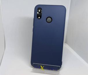 Pouzdro Forcell Soft silikonové pro Huawei P20 Lite modré