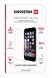 Swissten Tvrzené Sklo 9H pro Apple iPhone 6/6S