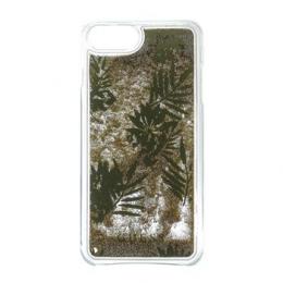 Pouzdro Guess (GUHCP7GLUPRG) Liquid Glitter Hard Case pro Apple iPhone 7/8 Palm Spring